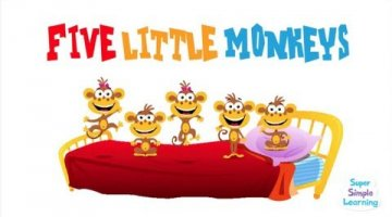 Five Little Monkeys Video
