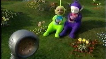 Nursery Rhyme: Little Miss Muffet by the Teletubbies!