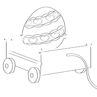 Thumbnail image for Easter Wagon Dot Fun