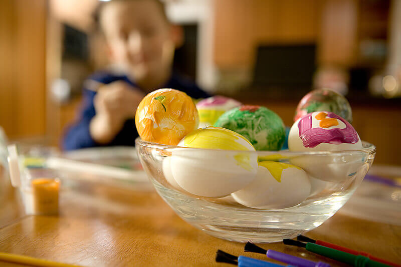 Dyed Eggs: A History