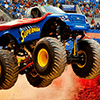 SuperHero Monster Jam Truck Jigsaw