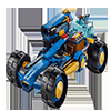 Blue Buggy Racer Jigsaw