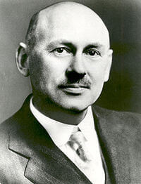 Robert Goddard, scientist and inventor.