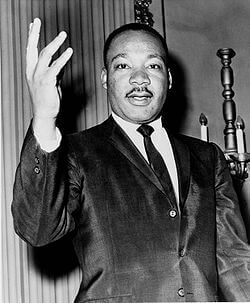 Dr. Martin Luther King, Jr., civil rights leader