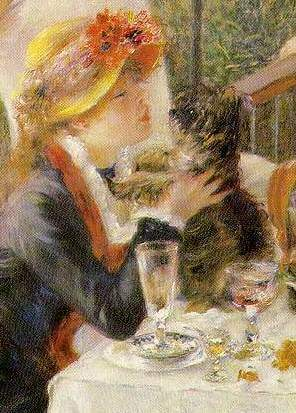 Renoir's wife Aline is portrayed.
