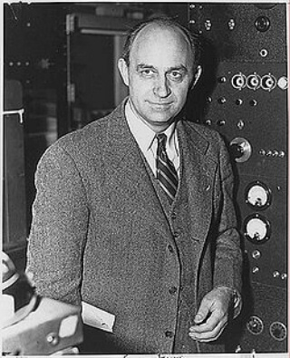 Enrico Fermi, inventor of the atomic bomb.