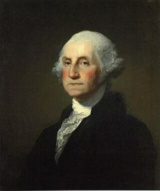 George Washington, 1st President of the United States.
