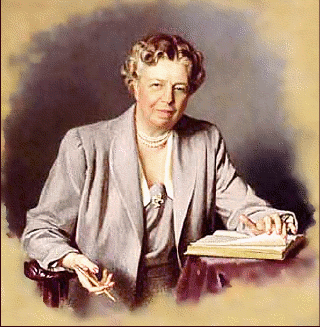 Eleanor Roosevelt, champion of equal rights.