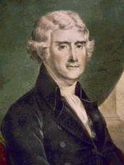 Thomas Jefferson, the 3rd President of the United States