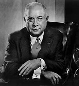 David Sarnoff, inventor of the television and creator of NBC.