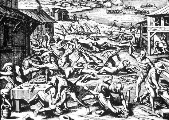 Massacre of Jamestown, 1622
