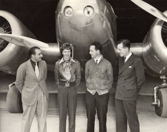 Mantz, Earhart, Manning and Noonan