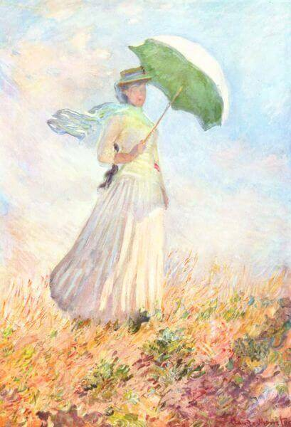 Lady with a Parasol, 1886, Claude Monet, Musée d'Orsay, Paris