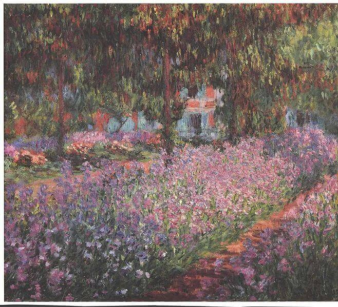 Monet's Garden in Giverny, unknown
