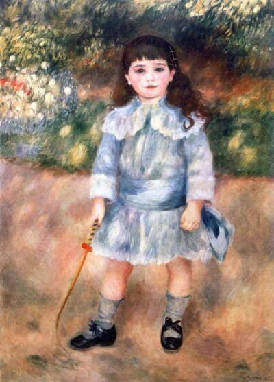 Child with Whip, 1885,The State Hermitage Museum, St. Petersburgh, Russia