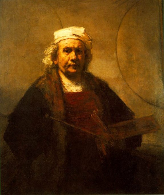 Self-portrait by Rembrandt. 1661. Kenwood House, London