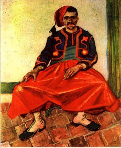 The Seated Zouave