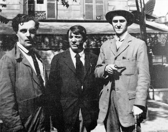 Modigliani,_Picasso_and_André_Salmon550