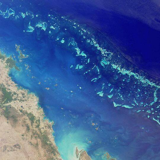 Great Barrier Reef of Australia