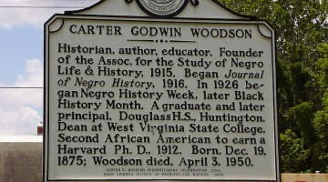 Carter Woodson Marker