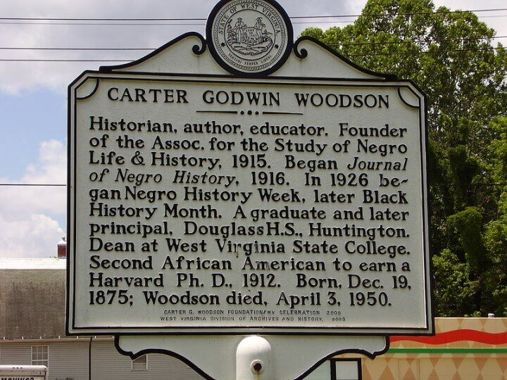 Carter Goodwin Woodson was the father of Black History Month.