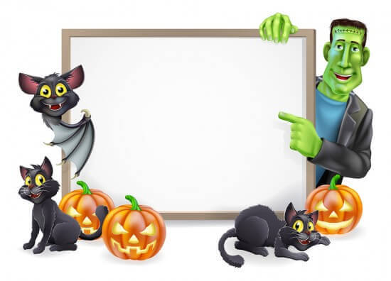 Easy Bulletin Boards for Halloween