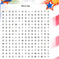 Independence Word Hunt