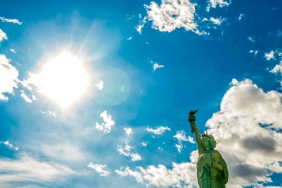 Statue Of Liberty and Open Sky