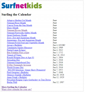 HTML Codes for Free Daily Content Web Widgets » Surfnetkids