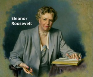 Eleanor Roosevelt First Lady X