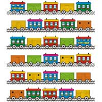 Train Spot the Differences » Puzzles » Surfnetkids