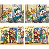 Halloween Pictures Differences