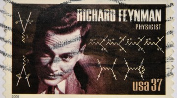 Richard Feynman Stamp