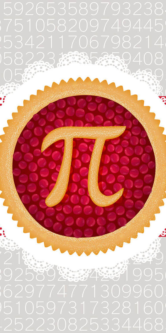 Pi is the ratio of the circumference of a circle to its diameter. Regardless of the size of the circle, #pi is always the same irrational number: approximately 3.14. #piday