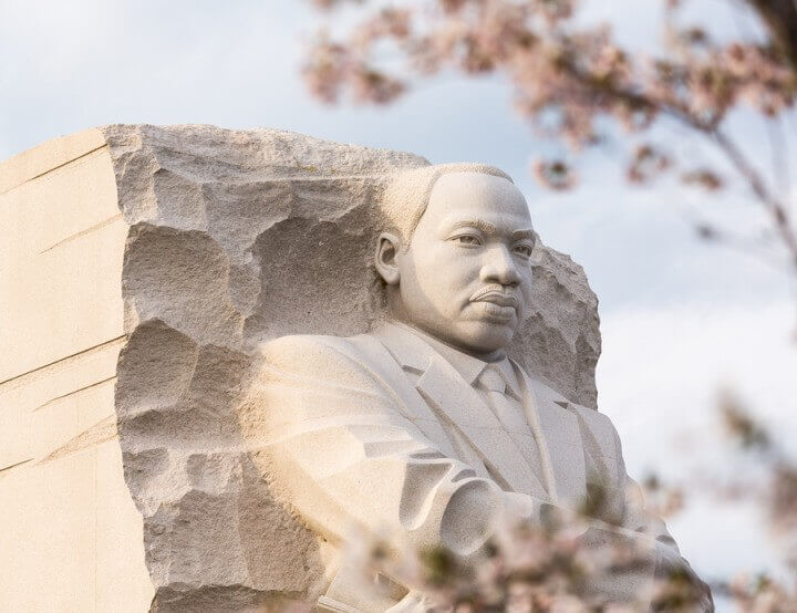 Martin Luther King Monument Wa