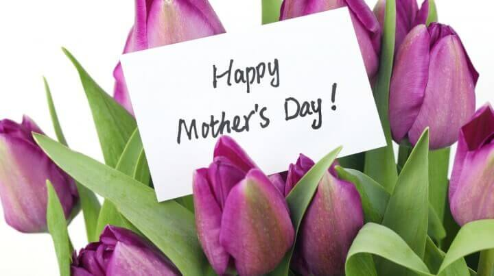 Mother S Day Concept Purple