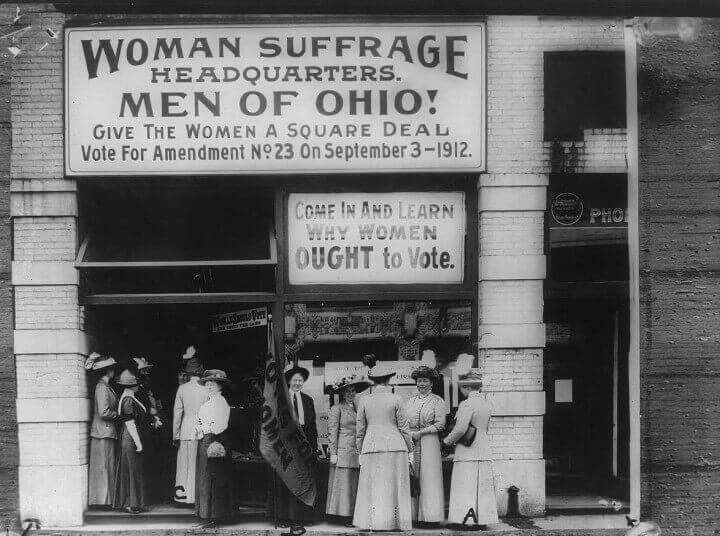 Woman Suffrage Headquarters Cleveland