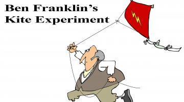 Ben Franklin's Kite Experiment