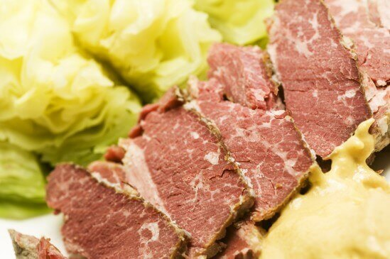 Corned Beef Cabbage with Mustard