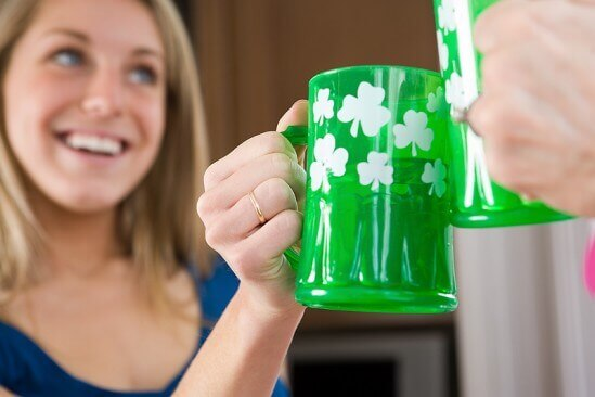 St Patrick's Day Toast