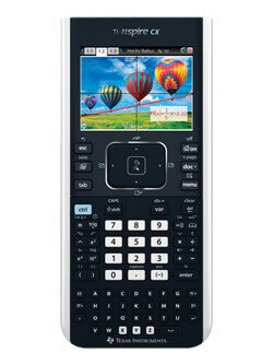Thumbnail image for TI Nspire CX Graphing Calculator