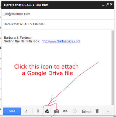 Gmail Tip for Sending Really Big Files