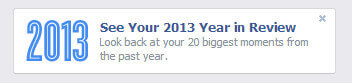Thumbnail image for What is Facebook Year in Review?
