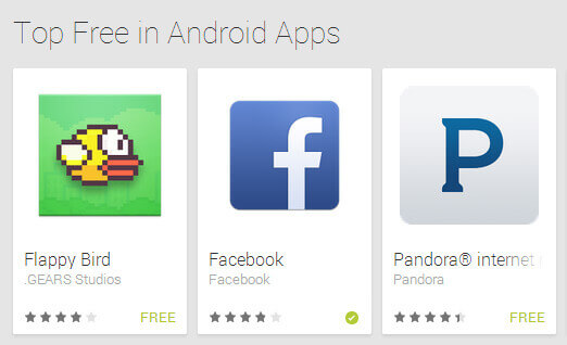 Bestselling Free and Paid Apps