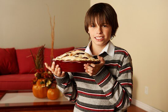 Kid Thanksgiving Pie