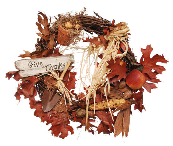 Thanksgiving Nature Walk Wreath