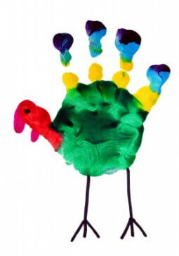 Thanksgiving Turkey Handprint