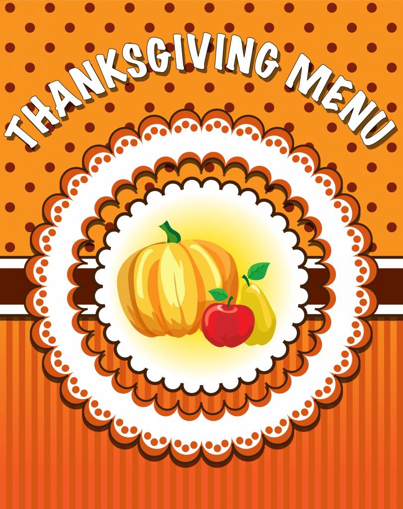 The First Thanksgiving Menu 187 Thanksgiving 187 Surfnetkids