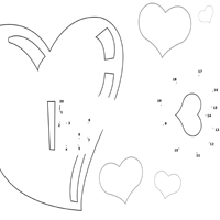 Thumbnail image for Cupid's Arrow Dot to Dot 1 – 20