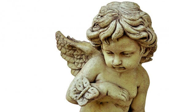 Vintage-cupid-sculpture